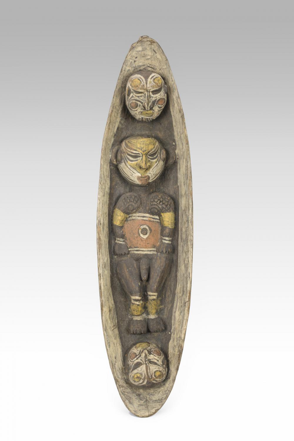 Boat carving, 20th century, New Guinea, Melanesia