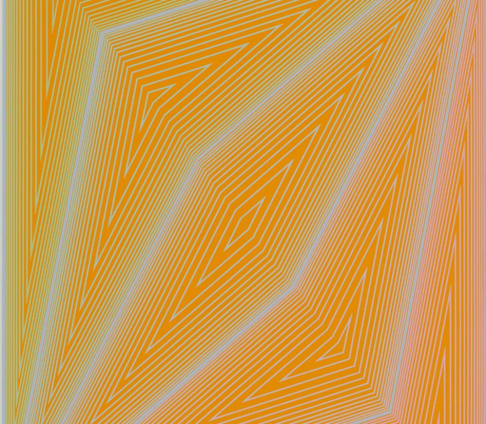 Richard Joseph Anuszkiewicz (American, b. 1930), The Inward Eye: #4 art (detail)