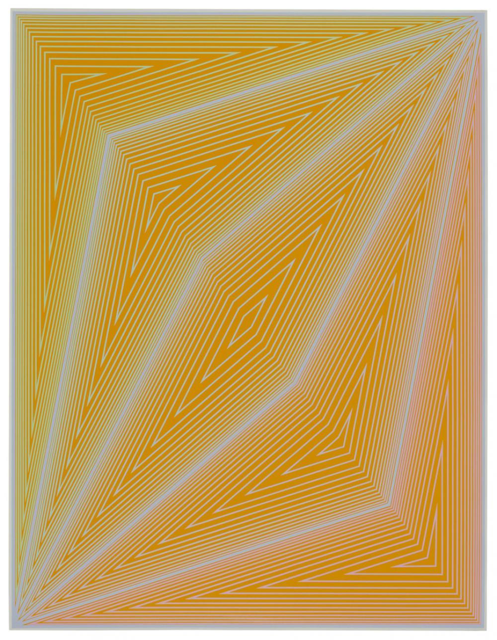 Richard Joseph Anuszkiewicz (American, b. 1930), The Inward Eye: #4 art