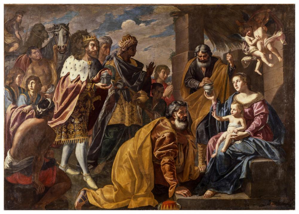 Franco, Giuseppe; Giuseppe de' Monti (Italian, 1550-1628), Adoration of the Magi