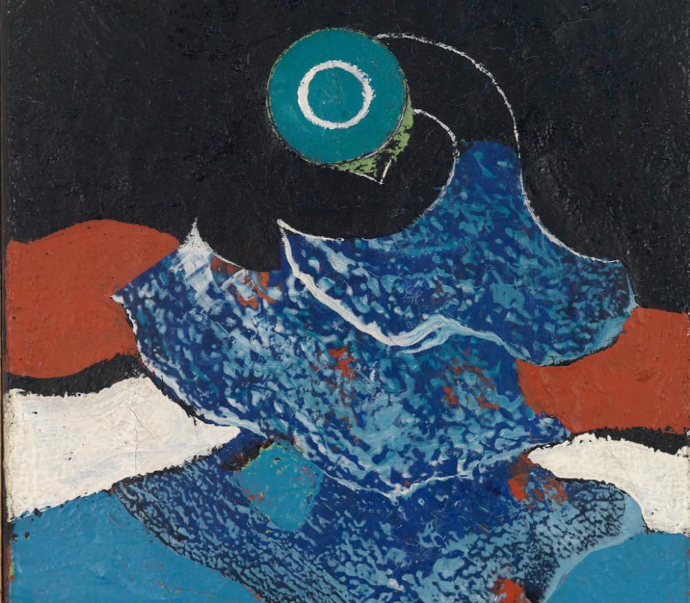 Max Ernst (German, 1891-1976), Bird (detail), ca. 1928
