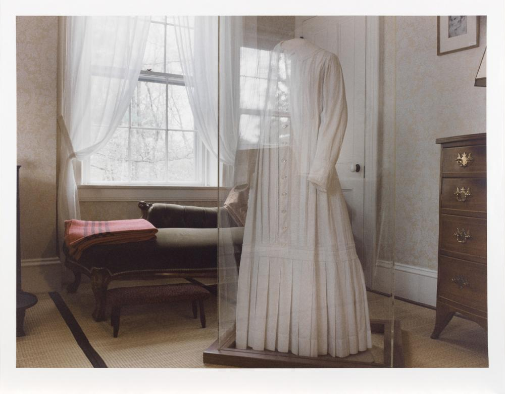 Jerome Liebling (American, 1924-2011), Emily Dickinson's White Dress, The Homestead, 1989