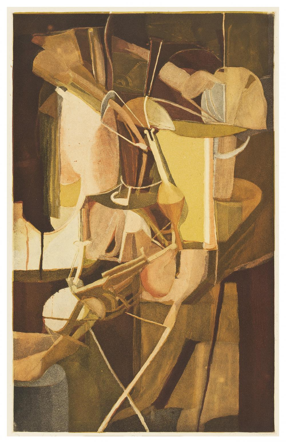 Jacques Villon; Marcel Duchamp, La Mariée [The Bride], 1934