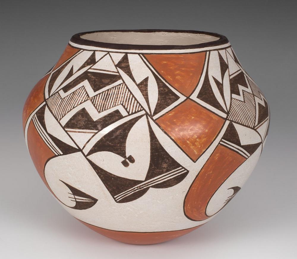 Lucy M. Lewis, Jar (olla), ca. 1953