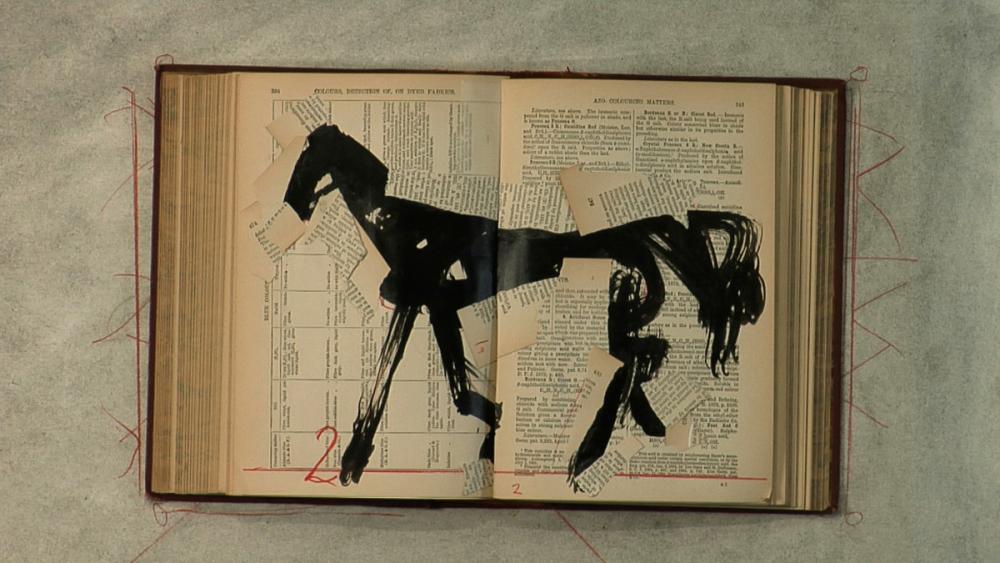 William Kentridge (South African, b. 1955), Tango for Page Turning (detail), 2012-2013