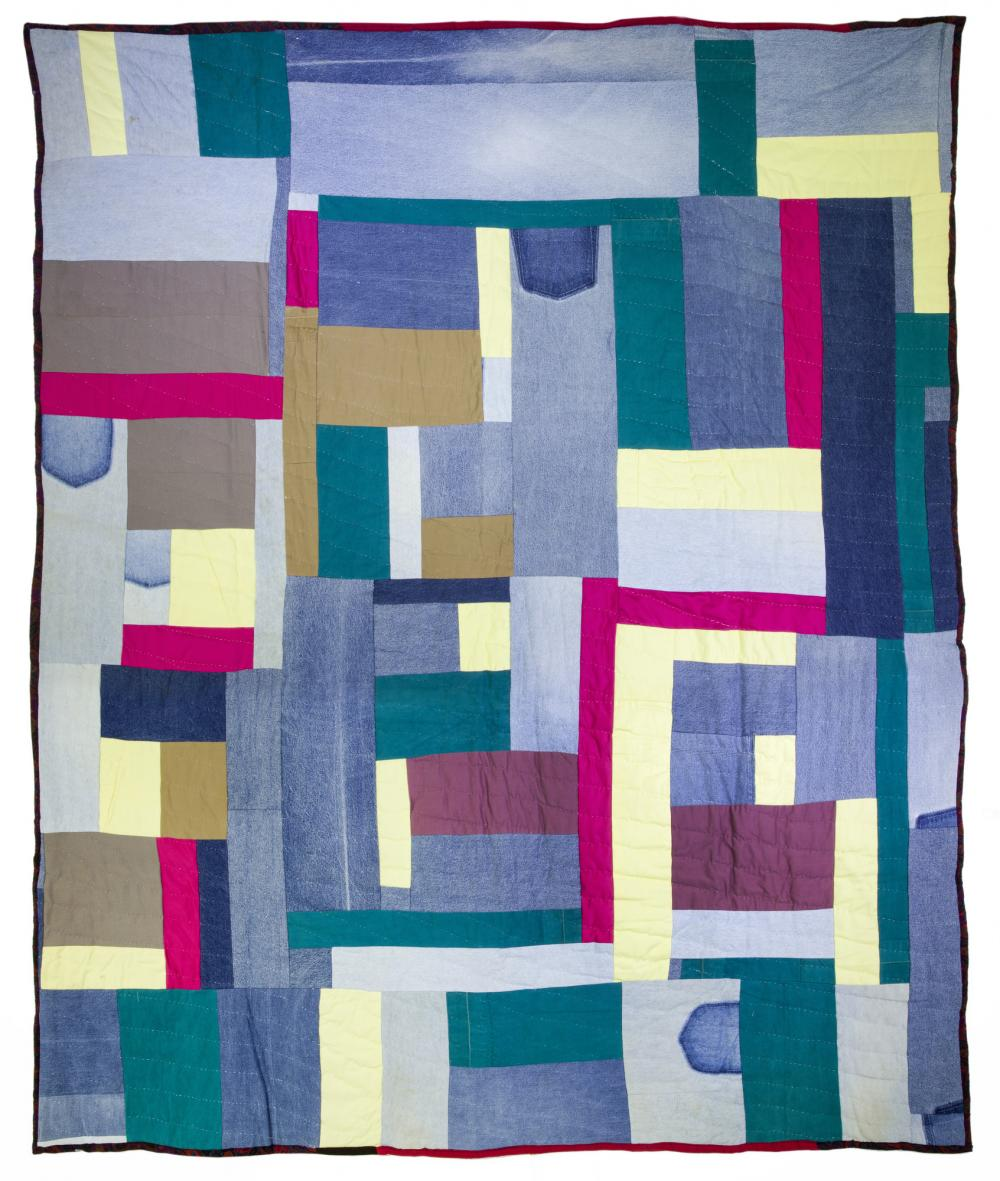 Mary Lee Bendolph (American, 1935- ), Ghost Pockets, 2003