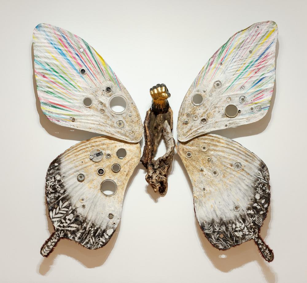 Hector Dionicio Mendoza (Mexican, b. 1969), Mariposa/Butterfly, 2017