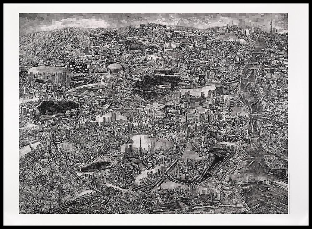 Diorama Map of Tokyo, Sohei Nishino, 2014