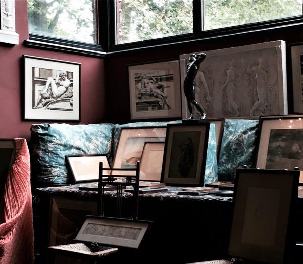 Frederic Leighton's study, Leighton House Museum, London