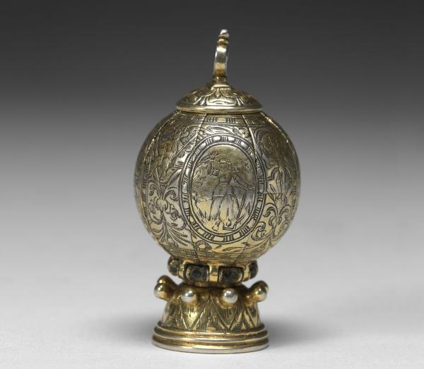 Maker Unknown (German), Pomander, 1580-90