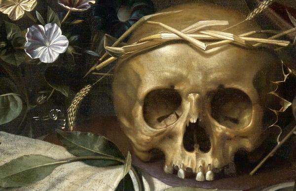 Hendrick Andriessen (Flemish, 1607-1655), Vanitas Still Life (detail), ca. 1650