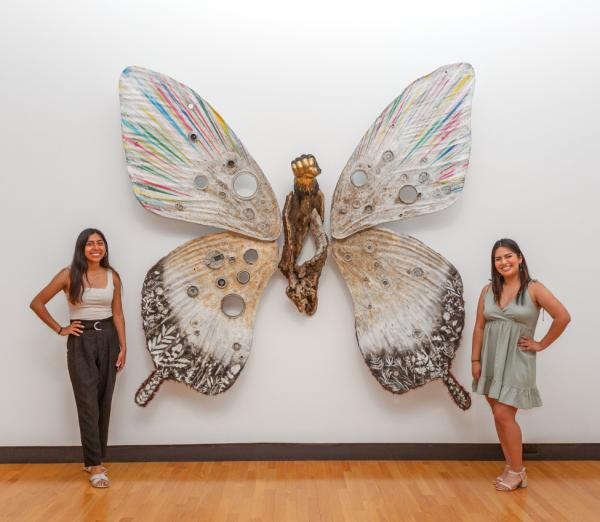 Nicole Lara Granados and Jennifer Villa