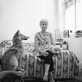"""Join us this Thursday, October 18 at 5:30 PM in Gamble Auditorium for a public lecture by artist & #mountholyoke alumna Joan Jonas '58, titled """"Joan Jonas '58: 60 Years Later."""" As the 2018-2019 Leading Woman in the Arts, Jonas is the first alumna in the program's 12-year history. Her lecture is made possible by the Weissman Center for Leadership and the InterArts Council, and there will be a reception to follow. Check out the @mhcartmuseum website and Facebook page for more details! #joanjonas #mountholyokecollege #alumna #lecture #performanceart"""