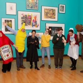 #mhcartmuseum wishes you a spOoOoOky Halloween! 👻🎃