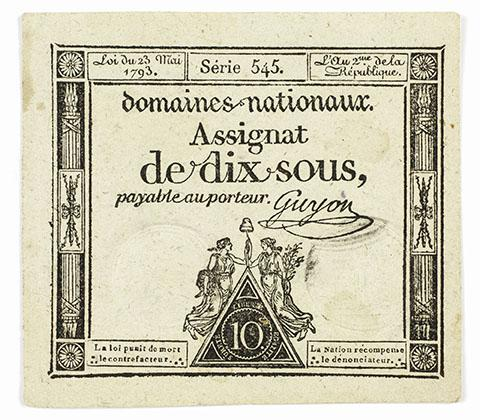 French, Assignat