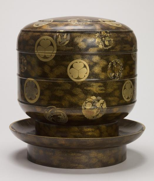 Japanese, Round food container