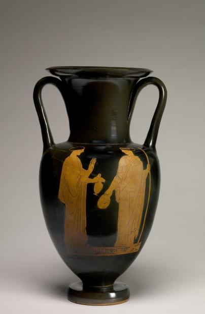 Polygnotos, attrib., Nolan amphora with mythological figures