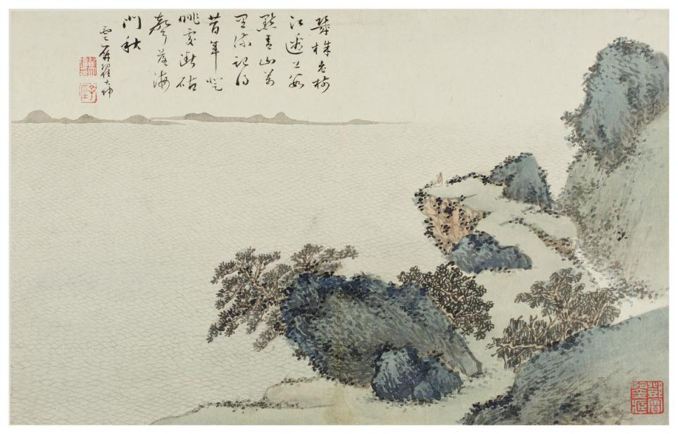 Zhai Dakun (Chai Ta-k'un), Cliffs by the Sea