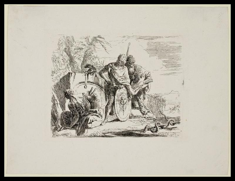 Tiepolo, Giovanni Battista, Young Soldier and the Astrologer