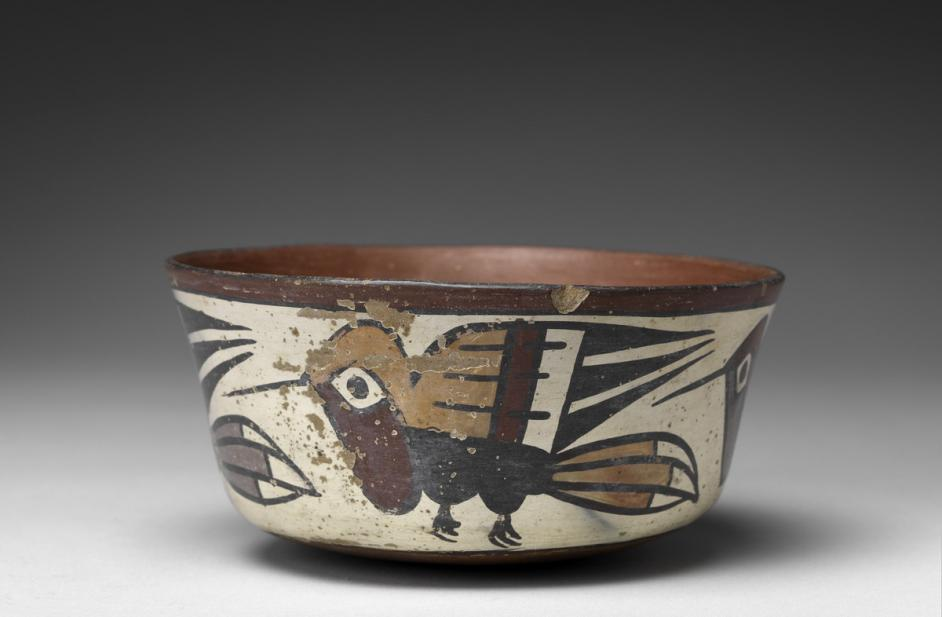 Nasca, Bowl with hummingbirds