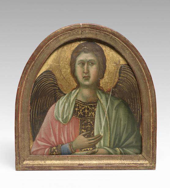Duccio, Angel (Pinnacle from the Maestà altarpiece)