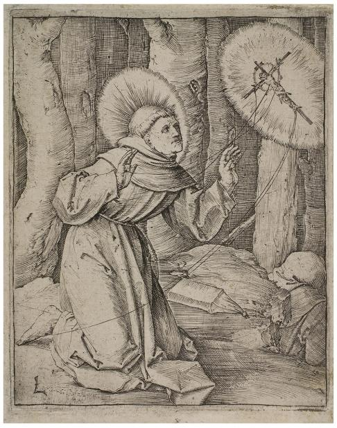 Leyden, Lucas van, St. Francis Receiving the Stigmata