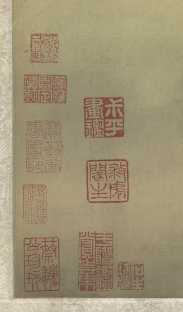 Wang Hui, Spring Dawn at Yanji [Rock of Swallows], ca. 1695 (Qing Dynasty)