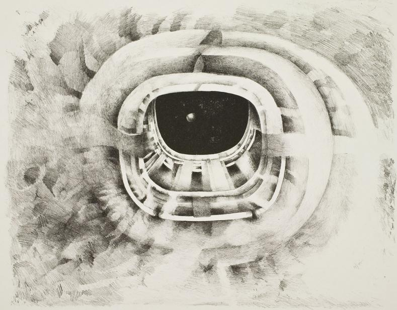 Lee Bontecou, Ninth Stone, 1965-1968
