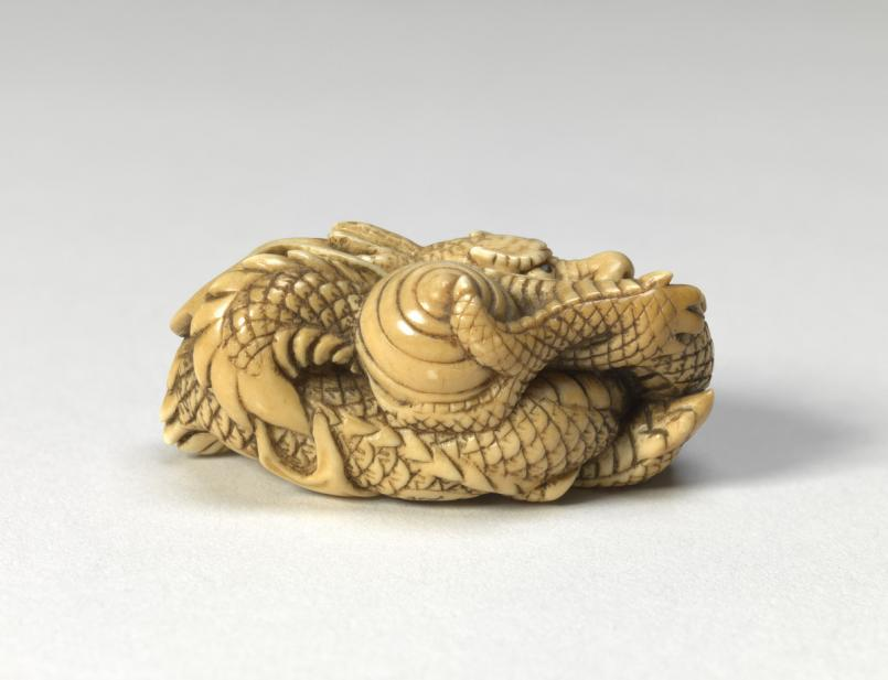 Tomokazu, Dragon holding a tama