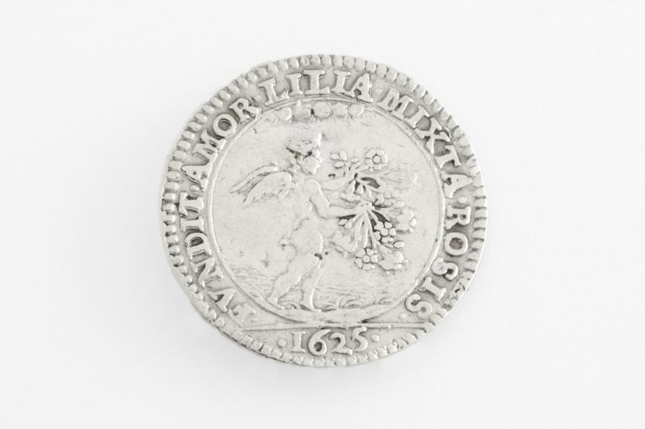 British, Charles I and Henrietta Maria marriage medal