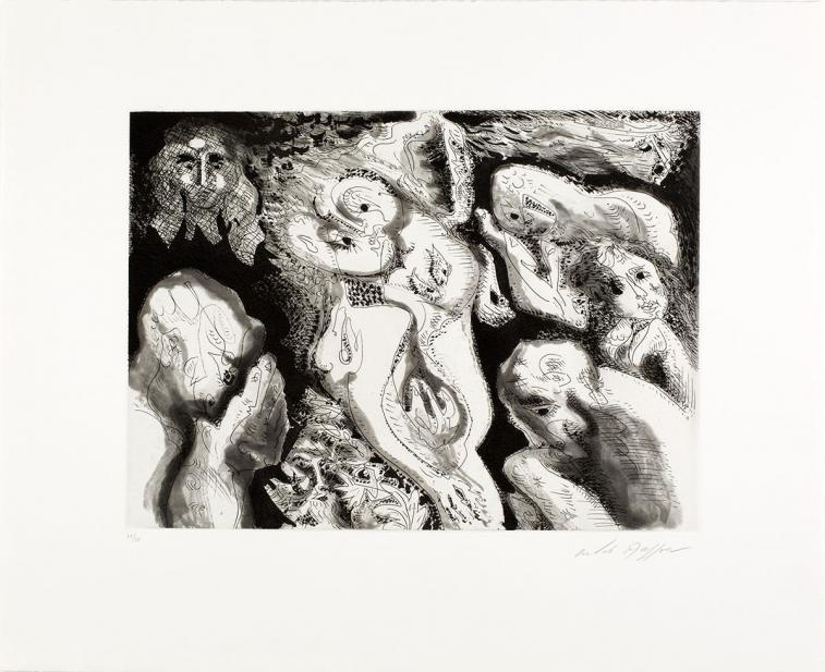 Masson, Andre, Homme et femme, 1973
