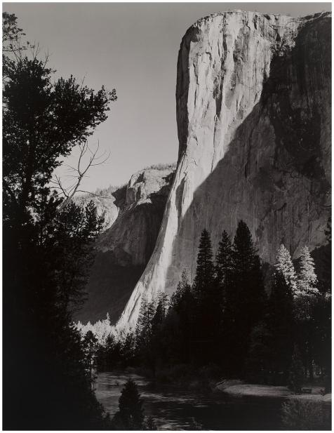 Adams, Ansel, Portfolio Three-Yosemite Valley: El Capitan, Sunrise