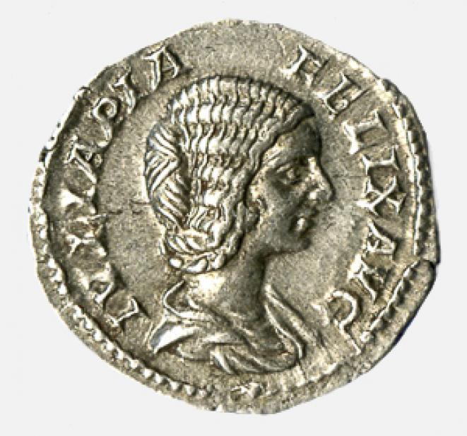 Septimius Severus (minted under), Denarius of Julia Domna