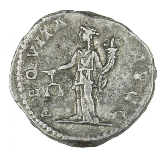 Roman, Denarius of Septimius Severus, verso