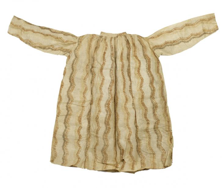 Polynesian, Bark cloth (kapa) shirt
