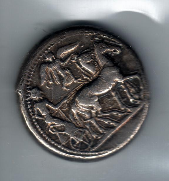 Greek, Stater from Syracuse