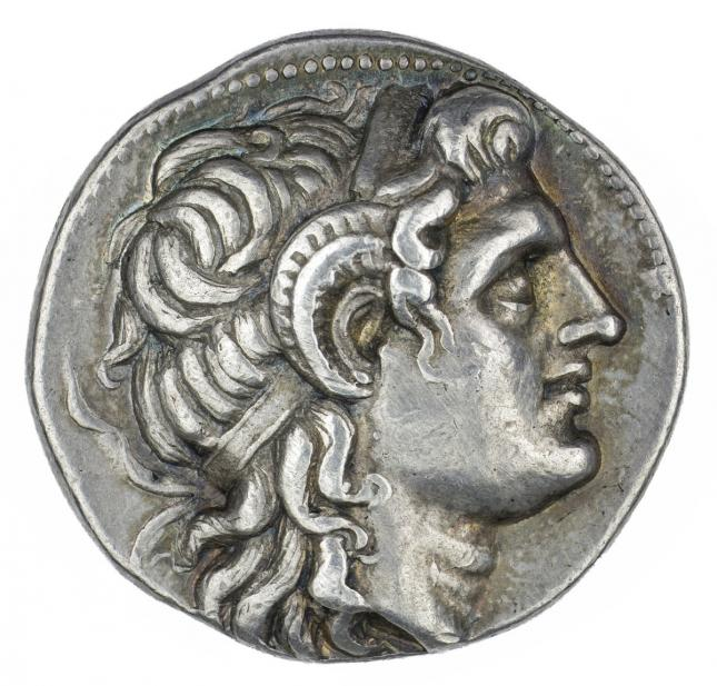 Greek, Tetradrachm of Deified Alexander III, the Great, obv.