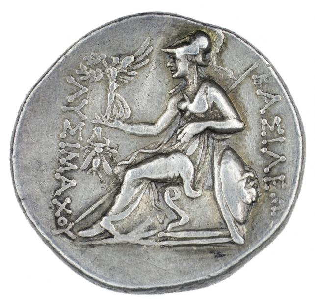 Greek, Tetradrachm of Deified Alexander III, the Great, rev.