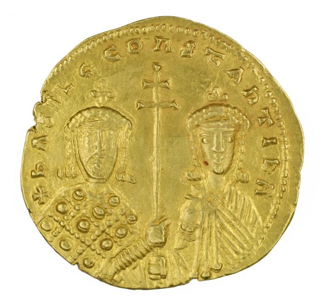 Byzantine, Histamenon Nomisma of Basil II