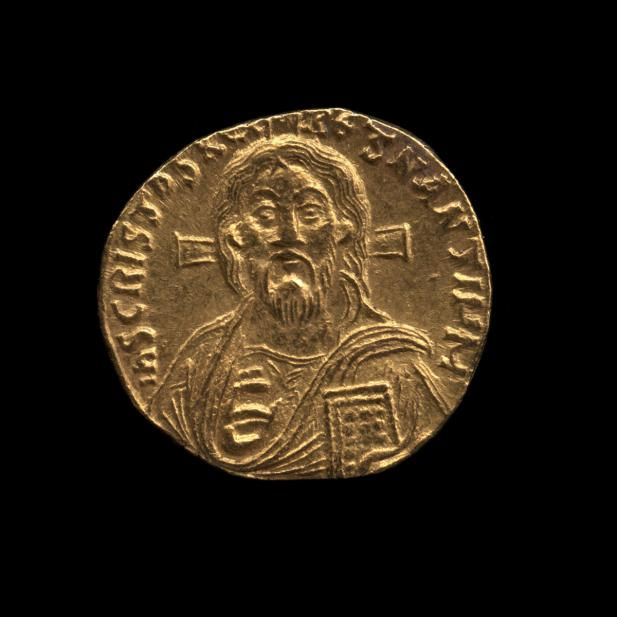 Byzantine, Solidus of Christ, recto
