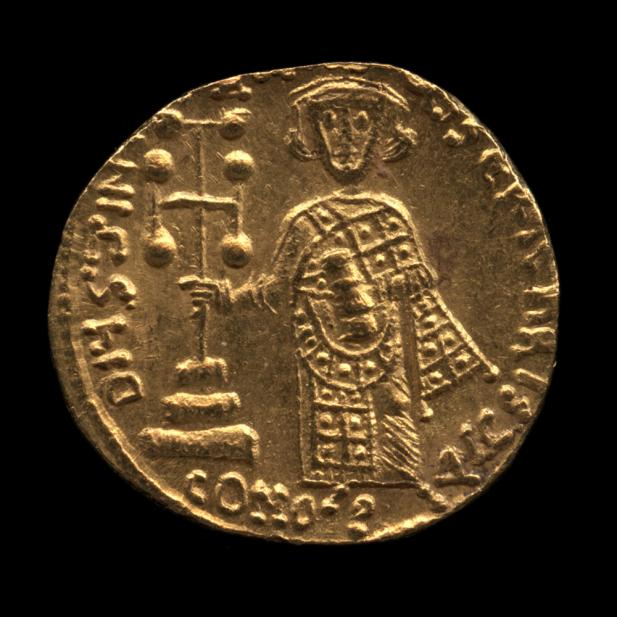 Byzantine (Minted under Justinian II), Solidus of Christ