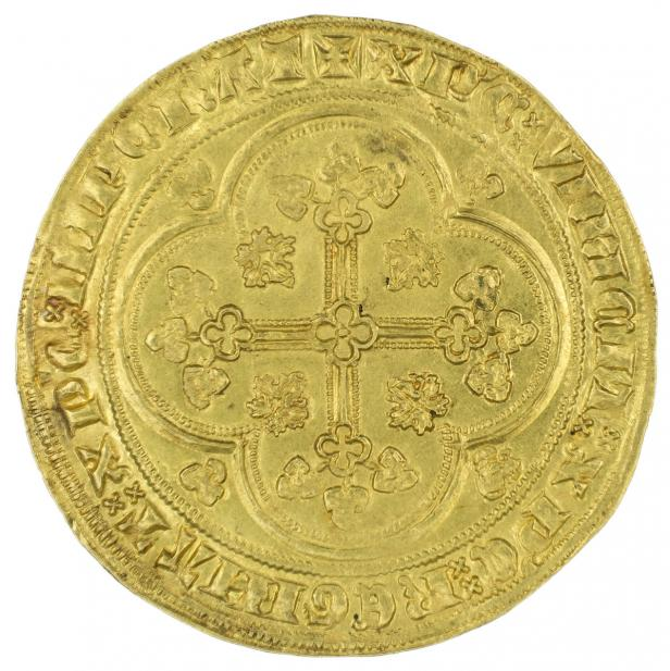 French, Écu d'or à la chaise of Philip VI