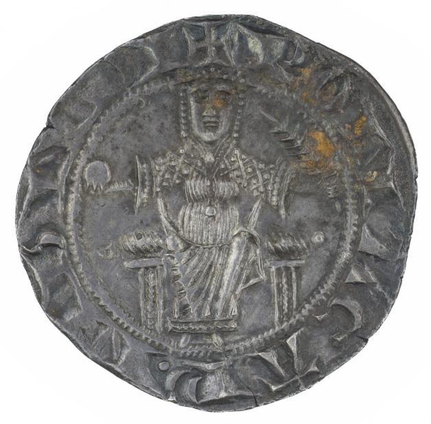 Roman, Grosso of the Roman Senate, rev.