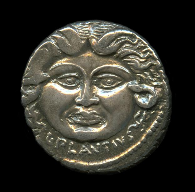 Roman, Denarius of Medusa