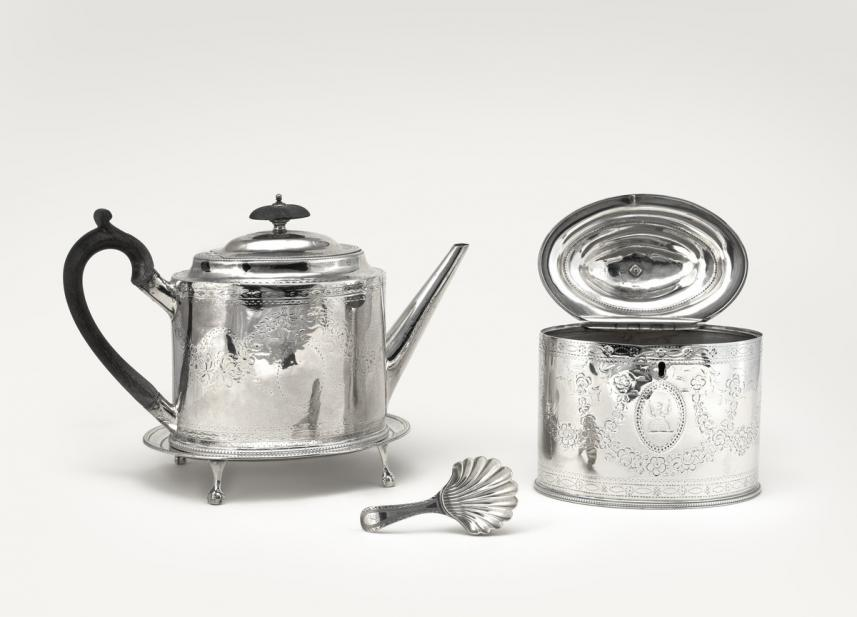Bateman, Hester, tea caddy