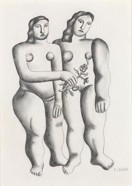 Leger, Fernand, Les deux soeurs [The Two Sisters]