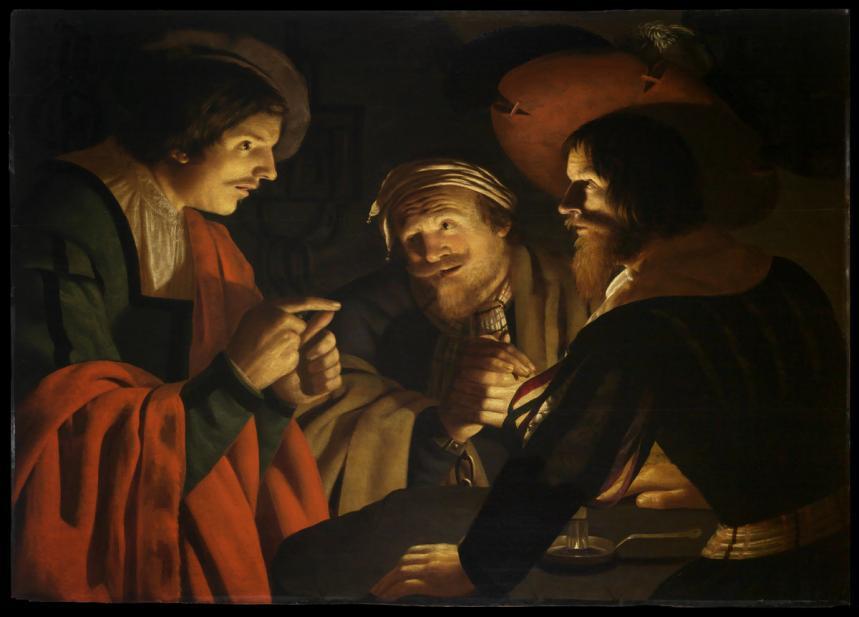 Volmarijn, Crijn Hendricksz., Joseph Interpreting the Dreams of Pharaoh's Butler and Baker