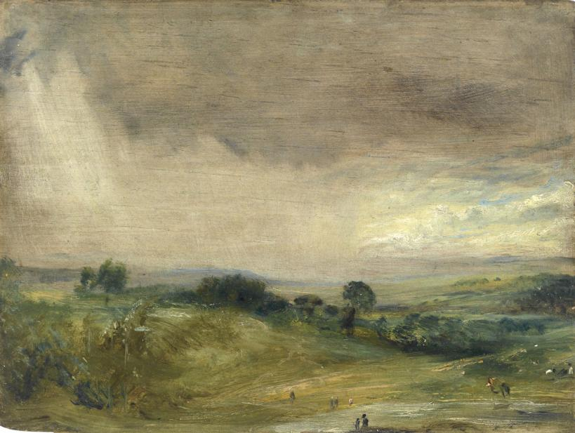 Constable, John, Hampstead Fields, Looking West, Afternoon