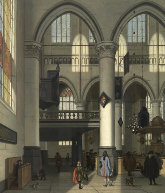 Streek, Hendrick van, Interior of the Oude Kerk, Amsterdam