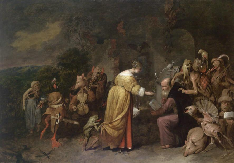 Ryckaert, David III, The Temptation of Saint Anthony